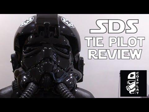 SDS Tie Pilot Helmet + Chest Box Armour Review