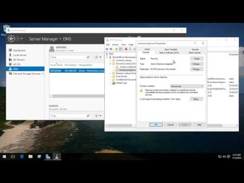 Server 2016 And 2012 R2 DNS TTL Cache Time Change Improve Network