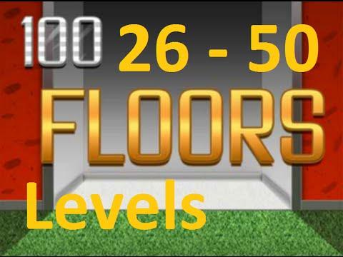100 Floors ™ - Can You Escape ?   Level 26 - 50  (26 - 50 уровень) прохождение