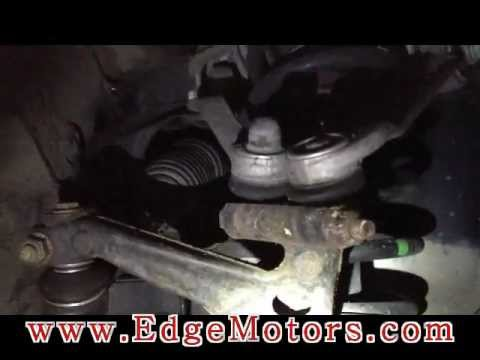 VW/Audi control arm pinch bolt removal with special tool Edge Motors