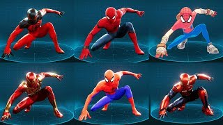 Download Spider-Man Ps4 - All 38 Suits Showcase Including all 10 DLC Suits! Video