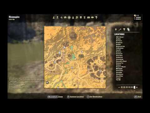 ESO: Rivenspire Treasure Map I Location