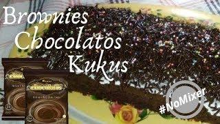 Brownies Kukus Chocolatos Tanpa Mixer