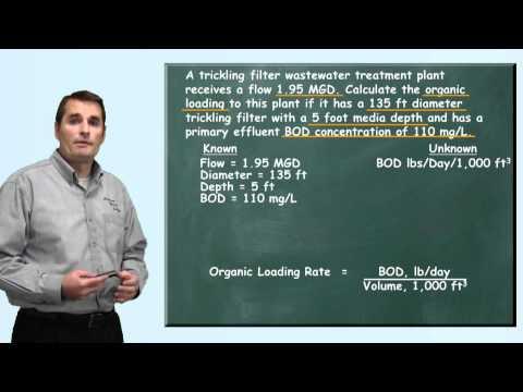 Problem Solved: Organic Loading Problem - Wastewater Math