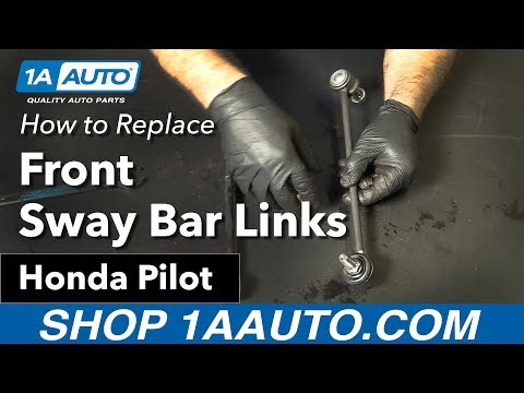 How to Replace Install Front Sway Bar Links 06-15 Honda Pilot