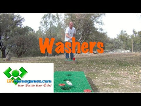 How to build Washers - DIYHomegames