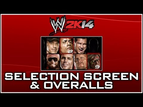 WWE 2K14 - 92 Wrestlers on The Roster?! Overalls Revealed!