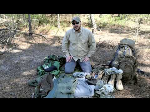 Black Scout Tutorials - Bugout Clothing (What to Wear When Bugging Out)