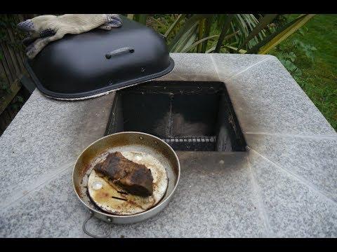 Finished Tandoor followed by a slow roast Cajun Brisket