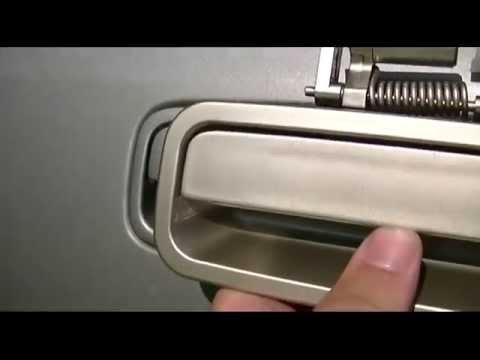 2000 Toyota Camry Door Handle Replacement