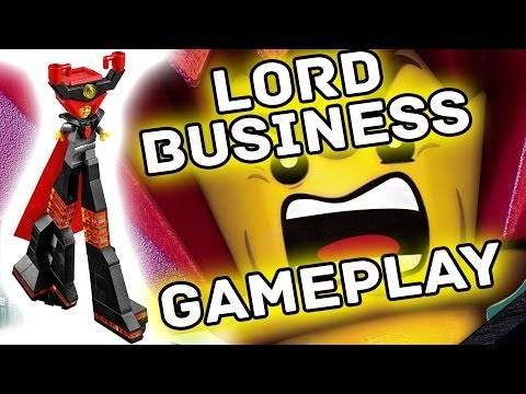 Lego Movie - Lord Business Gameplay (Unlocked) Free Play + 10x Stud Multiplier Found!
