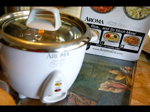 Unboxing Aroma Simply Stainless Rice Cooker