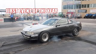 Prelude Goes To The First Race Event Of The Year! (Had Issues)