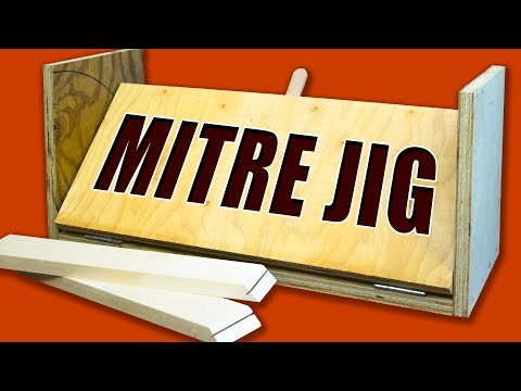 Table Saw Mitre Jig: Make Easy Mitres Cuts & Spline Joints Every Time!