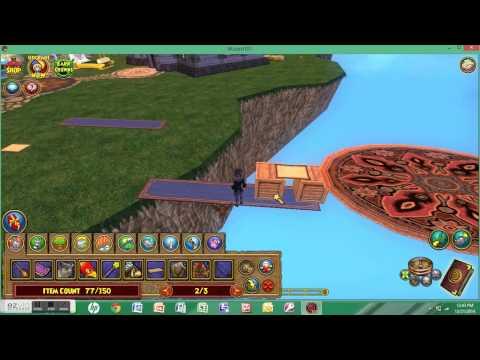 Magic Flying Carpet Glitch | Wizard101