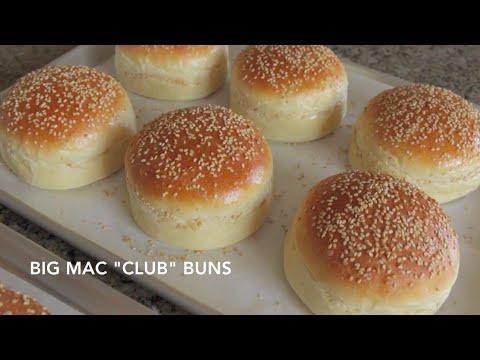 Homemade Hamburger Buns - Classic & Big Mac