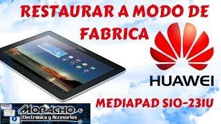 huawei s10-201l hard reset HARD RESET MediaPad 10 Link