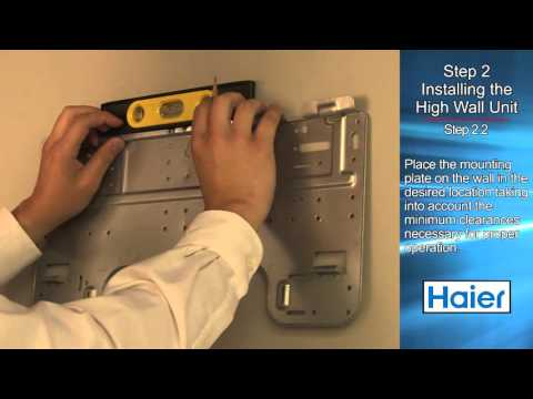 Haier Wall Mount Installation Video - Ductless Air