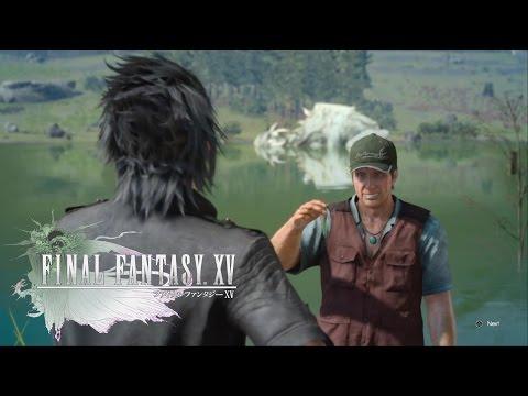 Final Fantasy XV (Fishing Buddies) Catch A Crag Barramundi