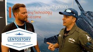 Lentostory: Raf Eurofighter Hävittäjälentäjän Haastattelu