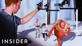 How Stop-Motion Movies Are Animated At The Studio Behind