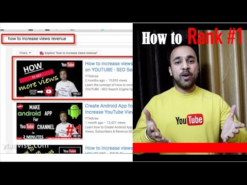 5 TIPS - How to Rank Youtube Videos on YouTube First page - Video SEO