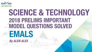 EMALS TECHNOLOGY   2018 PRELIMS IMPORTANT MODEL QUESTION SOLVED   SCIENCE AND TECHNOLOGY   NEO IAS