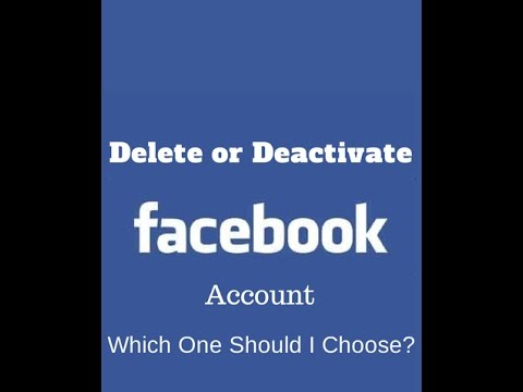 How To DEACTIVATE or DELETE Your Facebook Account Permanently !!!