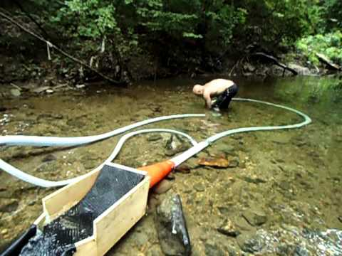 homemade dredge 1