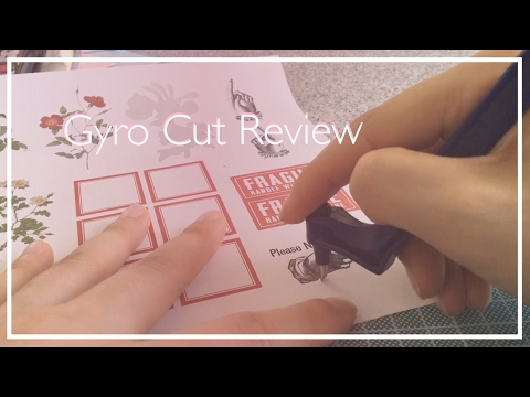 DIY Sticker Sheets - Gyro Cut Review
