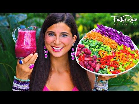 FullyRaw HOT PINK DELICIOUS Salad Dressing!