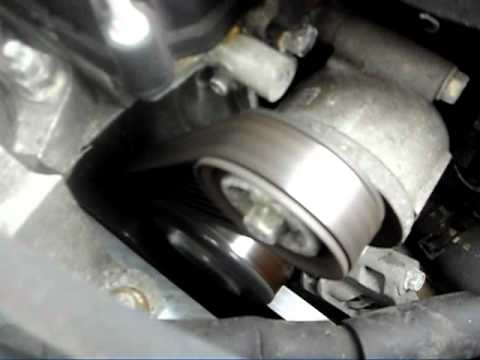 Mazda3 Tensioner Pulley failing?
