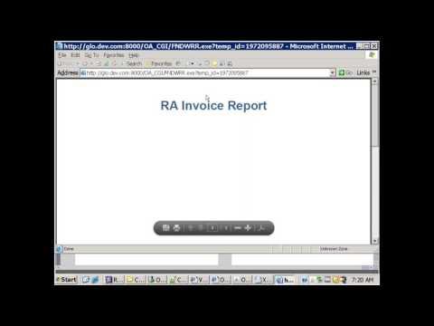 Oracle E-Business RDF +RTF Report - Multi Level  - Easy Approach