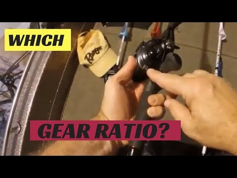 How to choose the correct  gear ratio for my baitcasting reel?