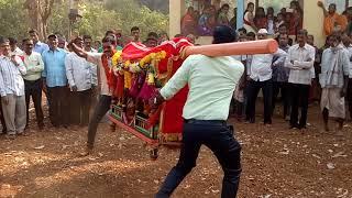आई वाघजाई भराडीन मातेचा पालखी उत्सव शिमगा ... गावनवाडी गाव कुंभारखाणी खुर्द संगमेश्वर ...