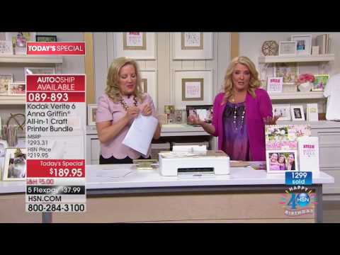 HSN | Anna Griffin Paper Crafting Celebration 07.11.2017 - 12 AM