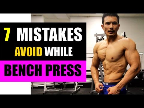 BENCH PRESS- 7 FIX FOR STRENGTH & MUSCLE GAIN(बेंच प्रेस करने के 7 तरीके)