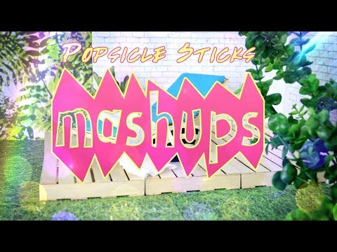 Mash Ups: Popsicle Sticks Doll Crafts - Caddy|  Lounge Chair | Pallet Furniture & More