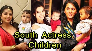 South Indian Actress with their Children | 2018