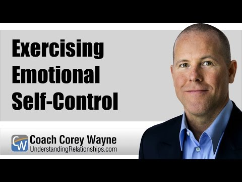 Exercising Emotional Self-Control