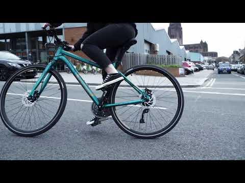 Urban biking with the new Voodoo Hybrids
