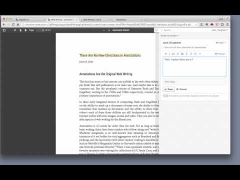 Hypothesis web annotation tutorial