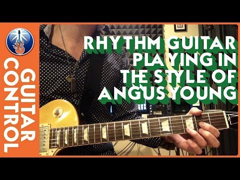Rhythm Guitar Playing in the Style of Angus Young