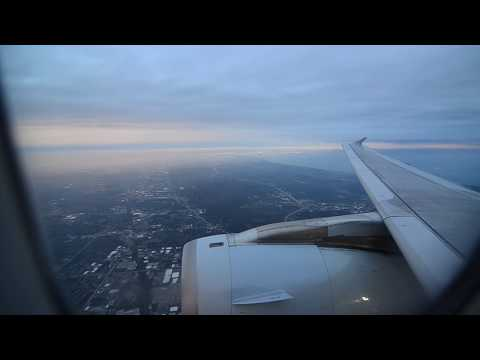Dawn Landing in Chicago