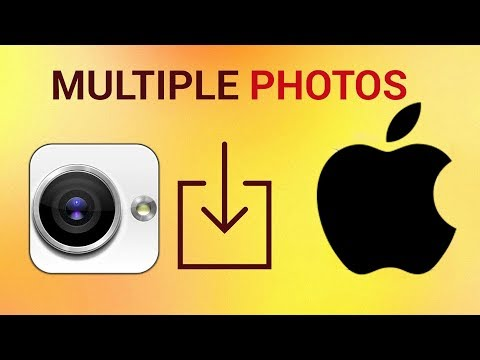 How to save multiple photos from iMessage at on iPhone and iPad