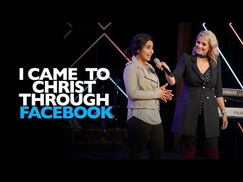 I Came to Christ through FACEBOOK!