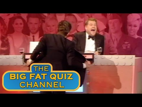 James Corden and Jack Whitehall Go Too Far  - Big Fat Quiz of The Year 2012