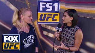 Valentina Shevchenko talks to Megan Olivi | INTERVIEW | UFC 228