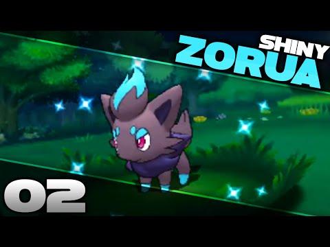 SHINY ZORUA! Shiny Hunting LIVE #02 | 4 ENCOUNTERS | Pokemon Omega Ruby & Alpha Sapphire