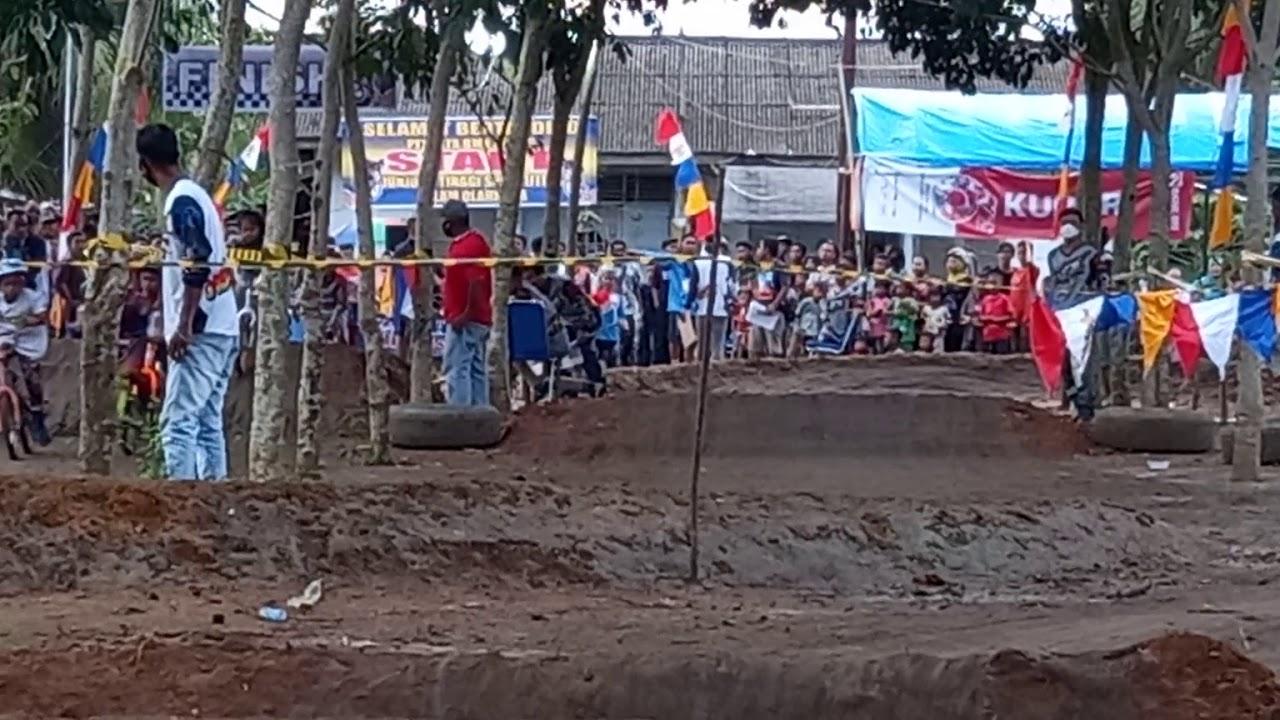 seru!! Final BMX CROSS Tanah Besih bmxcross tebing tinggi bmxcross sumut Mantap Hamka Maulana Farera